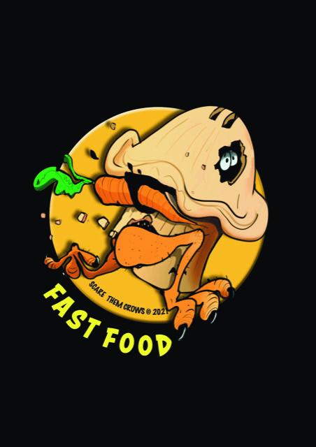 Ted and Oscar Tshirt Fast Food